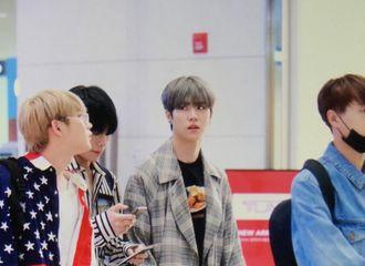 [新闻]180329 JBJ经仁川机场出发 准备泰国曼谷演唱会