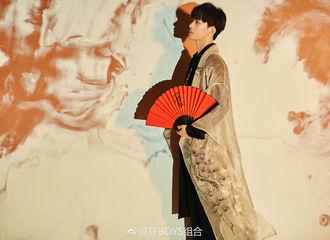[新闻]180802 易烊千玺全新中国风写真来袭 古风少年意气风发