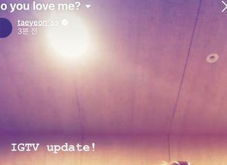 [分享]190825 给粉丝的惊喜礼物!金泰妍公开新曲《Do you love me》录音室花絮