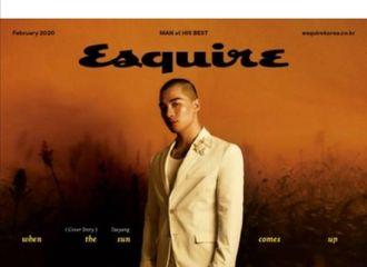 """[新闻]200118 《ESQUIRE》杂志采访太阳透露""""BIGBANG'科切拉'回归…成员们都思虑良多"""
