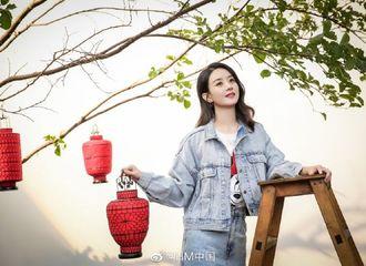 [新闻]200121 赵丽颖全新品牌宣传照公开 甜甜美美的代言人谁不爱
