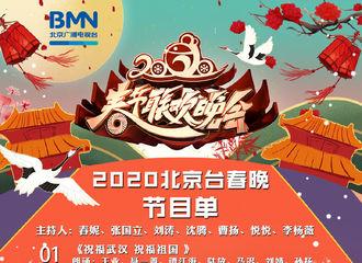 """[新闻]200125 北京台春晚节目单公布 小鬼和刘涛李治廷组成的""""跨界乐队""""来炸舞台了"""