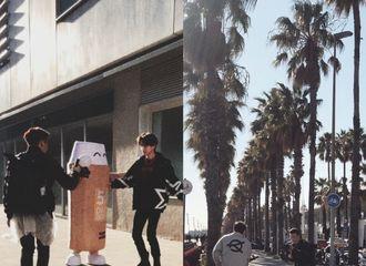 [新闻]200331 摄影师吕博文分享小鬼巴塞罗那碎片 阳光下你爱的少年肆意生长