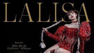 BLACKPINK LISA首张个人专辑,仅4天预售量突破70万张