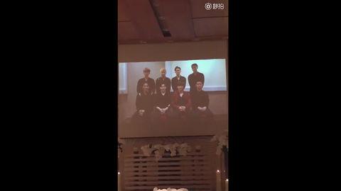 [分享]170219 自带笑点的祝福视频 来自EXO对新人的最强官方婚礼贺词