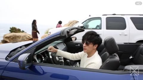 [分享]170225 薛之谦开车模样总裁感十足,请问这位老板副驾驶缺人吗?