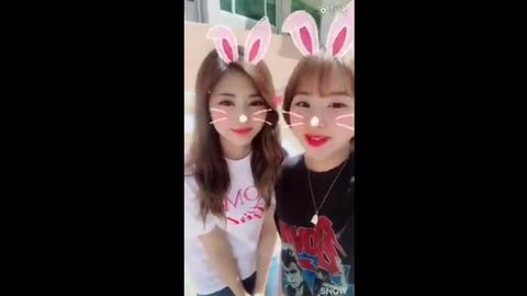 [分享]170623 子瑜&彩瑛为翰林艺高招生录制视频做宣传