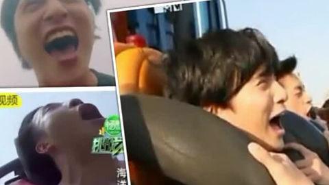 [分享]200806 薛·恐高·之谦玩过山车名场面回顾 熟能生巧是不存在的