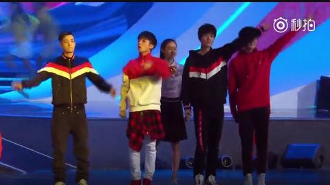 [新闻]180218 X玖少年团献唱《我要上奥运》主题曲 助力中国体育事业