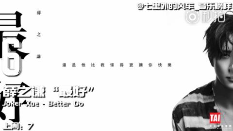 [新闻]180820 Billboard、Kkbox周榜 薛之谦相关海外音乐榜情况
