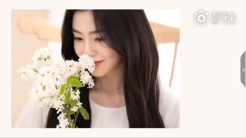 [新闻]181017 是童话中的花仙子啊!Irene品牌代言CF公开