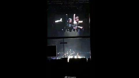 [分享]190223 傅菁北京演唱会彩排视频 这是什么绝美alpha!