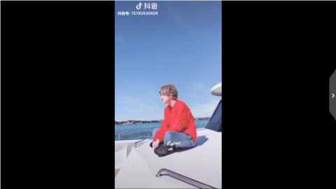 [新闻]190411 薛之谦澳洲游海观光记更新 见到海豚兴奋到不能自己的薛三岁