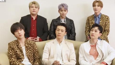 """[分享]190416 Super Junior队内的和解剂""""极限职业经纪人+眼泪"""""""