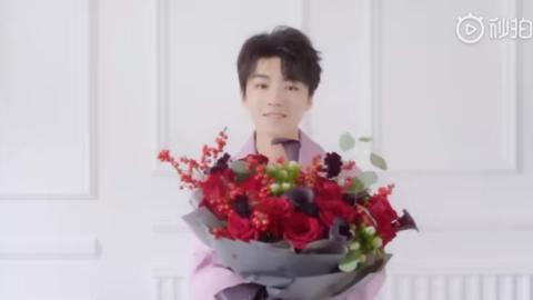 [新闻]190520 玫瑰小王子王俊凯送上浪漫礼物 520准备诚挚心意