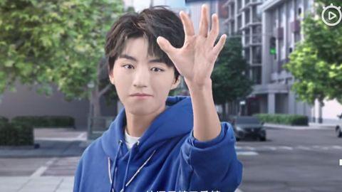 [新闻]190521 机甲男孩王俊凯炫酷来袭 看科幻少年穿越星际