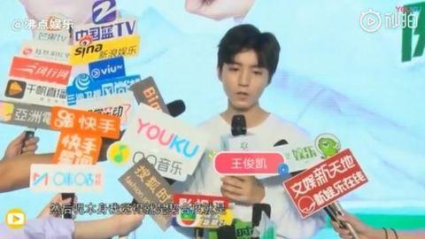 [新闻]190526 王俊凯品牌活动媒体群访来袭 歌手凯新专辑安排上
