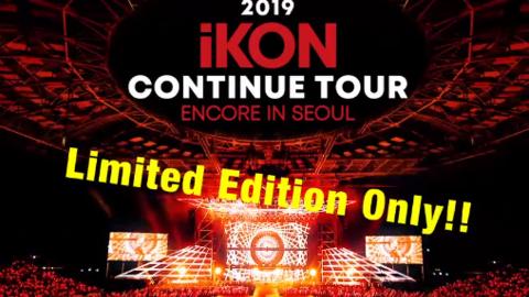 """[分享]190722 """"CONTINUE""""首尔安可场DVD将于24日发售!"""