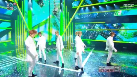 [NCT][新闻]190810 今天是一身白西装!NCT DREAM本周音中《BOOM》舞台公开