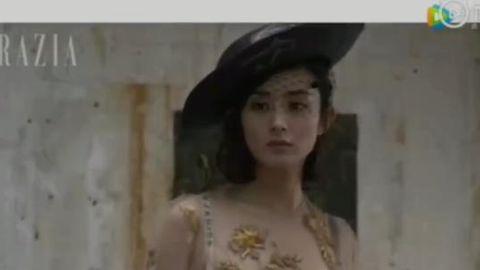 [赵丽颖][分享]190904 赵丽颖杂志拍摄花絮回顾 酷炫摩登风太飒了!