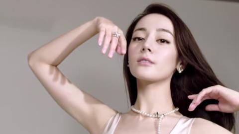 [迪丽热巴][新闻]191018 迪丽热巴全新广告宣传片公开 分享珍珠搭配秘笈