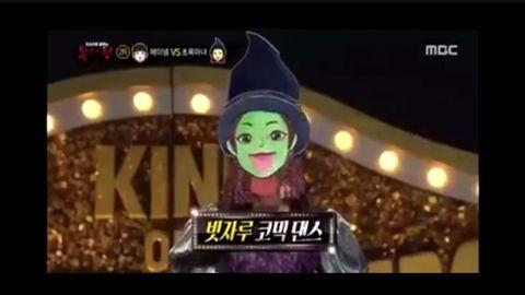 """[Red Velvet][新闻]191027 """"草绿色魔女""""《蒙面歌王》演唱《名为你的奢侈》,顺利晋级第三轮!"""