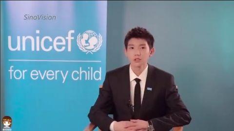 [新闻]191122 联合国儿童基金会大使王源专访 听听他对国外生活的看法