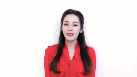 [迪丽热巴][新闻]191128 迪丽热巴品牌视频公开 优雅红裙大方靓丽口条清晰