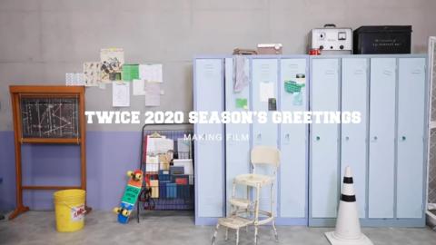 [TWICE][分享]191128  2020 SEASON'S GREETINGS 拍摄花絮2公开!来看幕后的调皮兔吧~