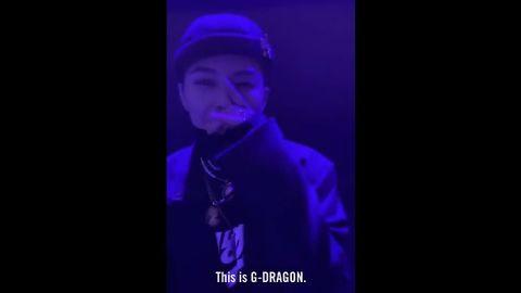 [BigBang][分享]191130 超级酷超级swag的权志龙,微笑的模样太迷人啦