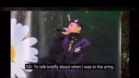[BigBang][分享]191204 权志龙谈及自己的军队生活,知世故却不世故