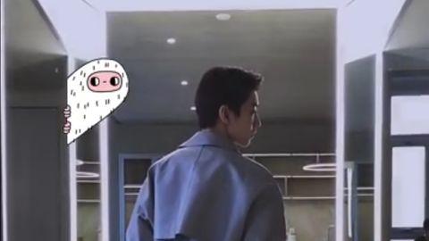 [新闻]191210 神秘来客王俊凯,帅气挺拔的背影你猜对了吗