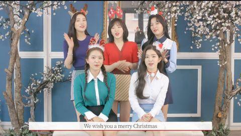 [Red Velvet][分享]191217 RedVelvet新罗免税店圣诞宣传影像公开