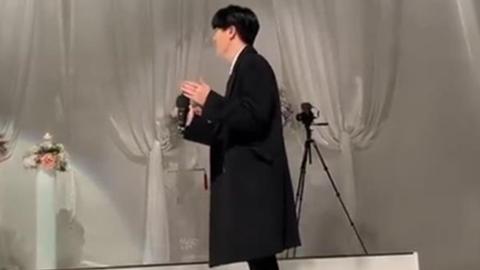 [GOT7][分享]191229 荣宰参加哥哥婚礼并献唱祝歌 崽崽的祝福哥哥会好好收到的~