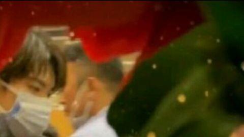 [新闻]200124 千玺现身春晚现场 双重口罩让人安心