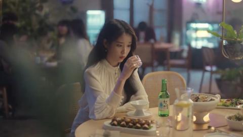 [分享]200326 露水精灵真露和IU一起回归的最新广告宣传片公开!