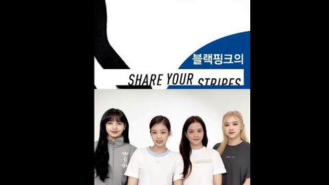 柠檬视频[新闻]200528 久违从官方公开的新物料,Blackpink携手品牌发起分享活动!
