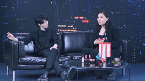 [新闻]200602 华晨宇品牌微综艺第二集更新 称职代言人化身美妆博主在线带货