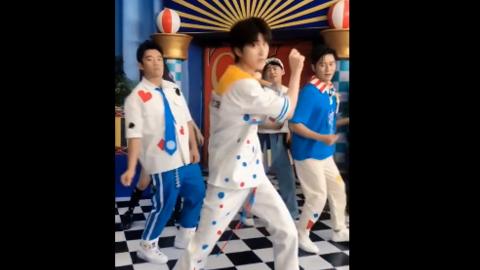 [新闻]200629 跑男家族齐跳《情人》舞变打歌舞台 请你们原地成团出道!