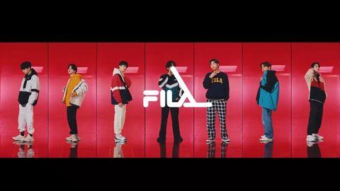 [分享]200807 FILA全新秋冬广告视频来袭!七人七色的运动风少年们!