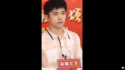 [新闻]200921 易烊千玺央视国庆后台采访,表演节目提前小剧透