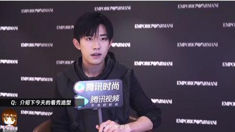 [新闻]201026 易烊千玺成都活动专访来啦 听他讲属于自己的时尚