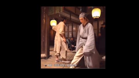 [新闻]201026 陈立农电影拍摄花絮释出 农农在片场轻松表演一字马