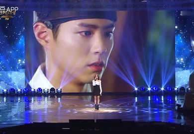 161231【GUMMY 】《云画的月光》&《太阳的后裔》OST联唱 - 2016KBS演技大赏