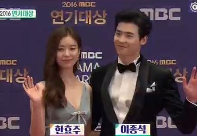 170101【李钟硕】SectionTV MBC演技大赏李钟硕采访CUT(二)