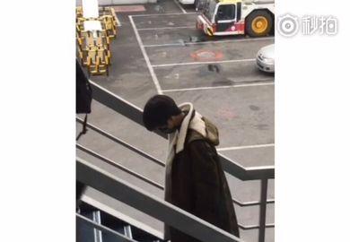 170112【王俊凯】170112重庆-杭州:机场路透