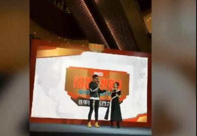 """170113【吴亦凡】香港迪士尼乐园""""超级英雄""""活动cut:提醒粉丝注意安全"""