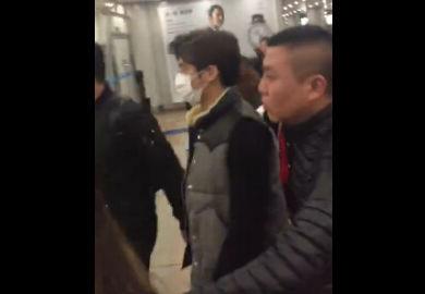 170112【李易峰】北京接机饭拍1