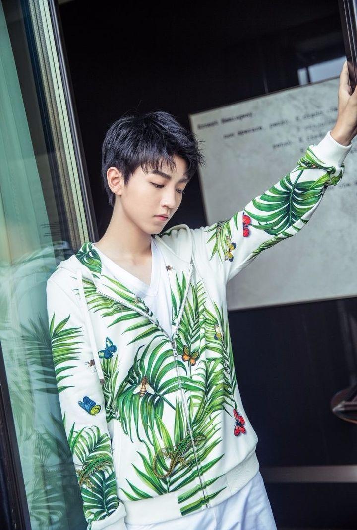 王俊凯 2018春夏米兰男装周 先导直播