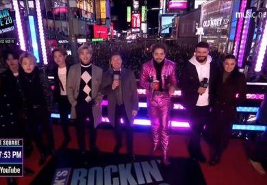 200101【防弹少年团】New Year's Rockin' Eve 2020跨年倒计时